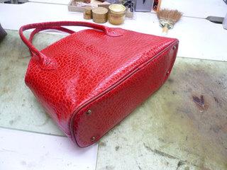 鞄作り(レディース赤)�B.jpg